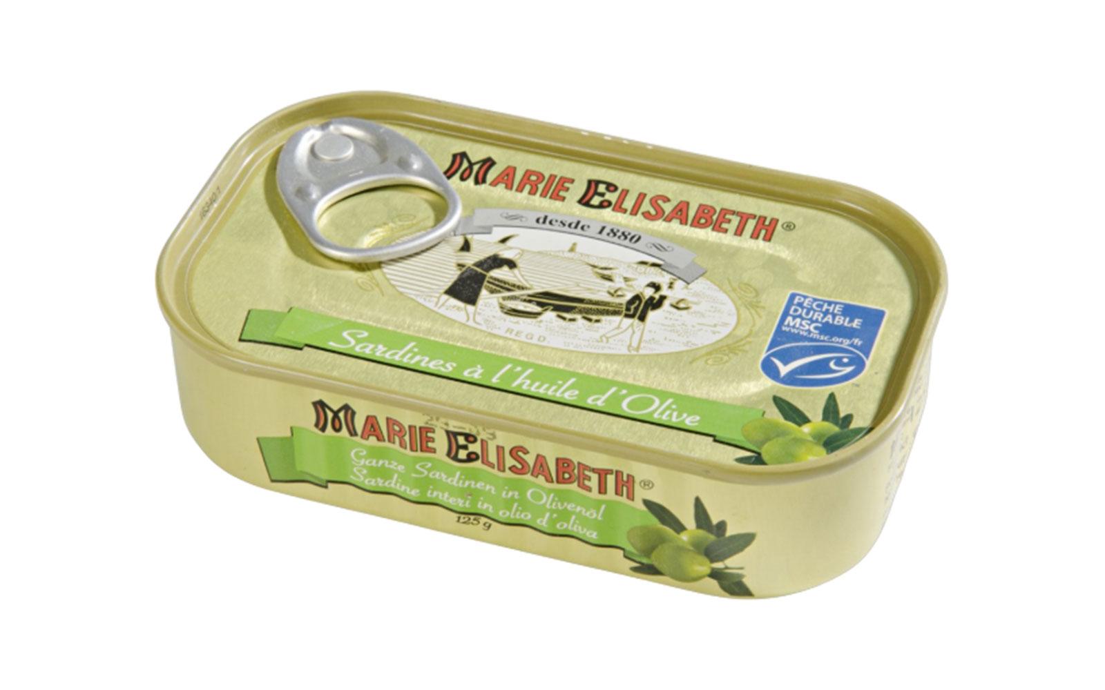 sardine huile olive
