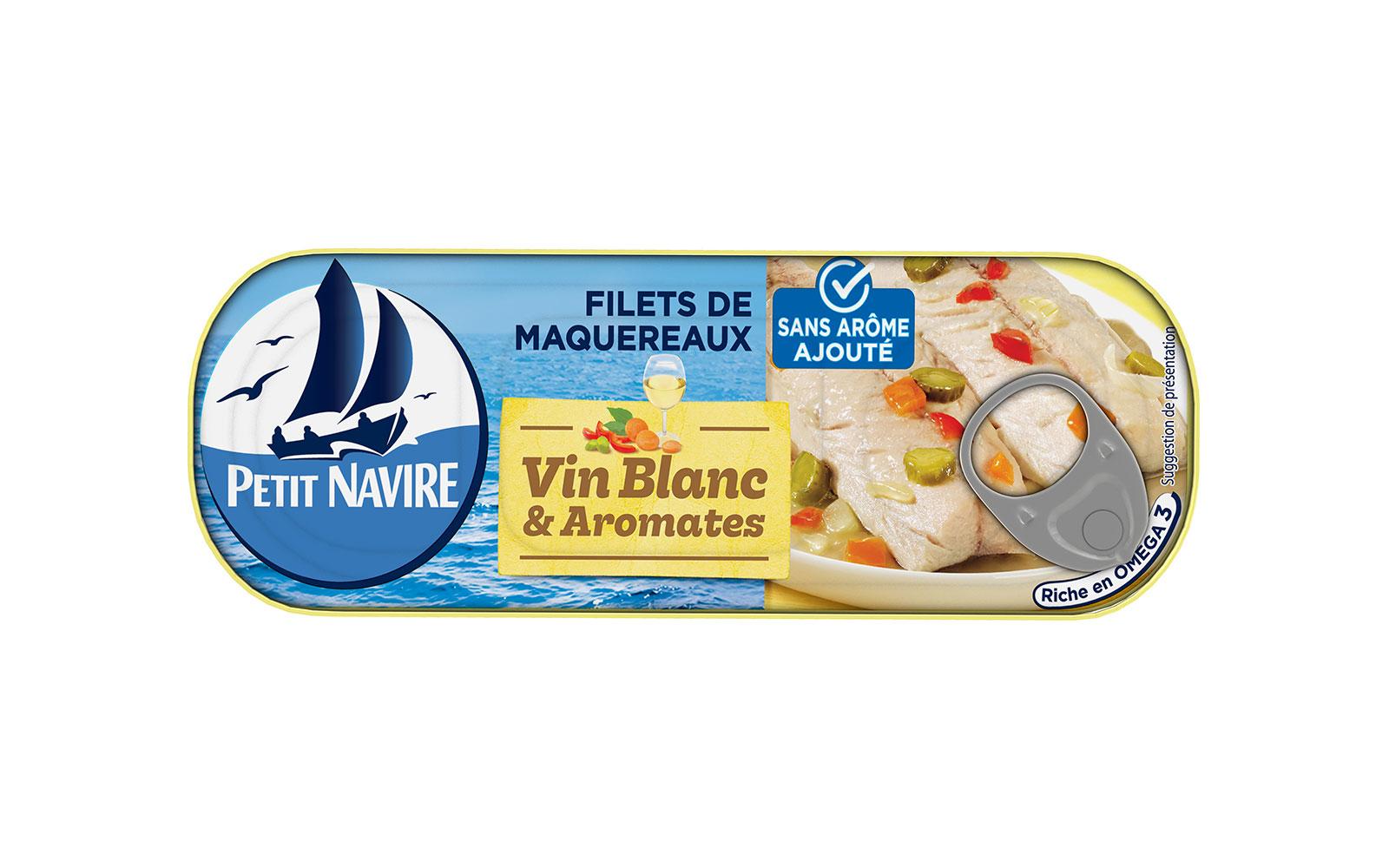 mackerel white wine