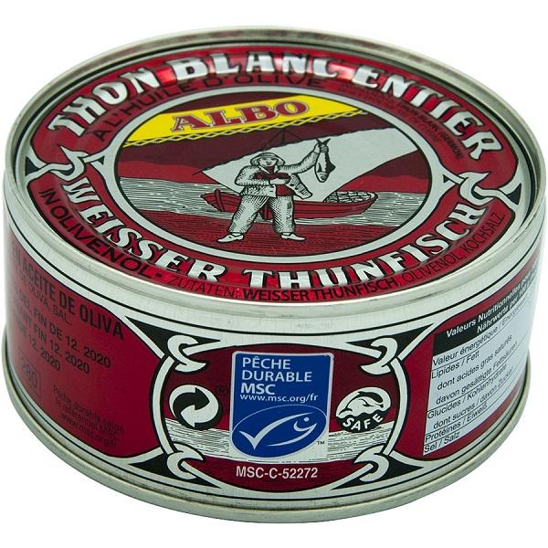 Boîte de thon blanc Albo