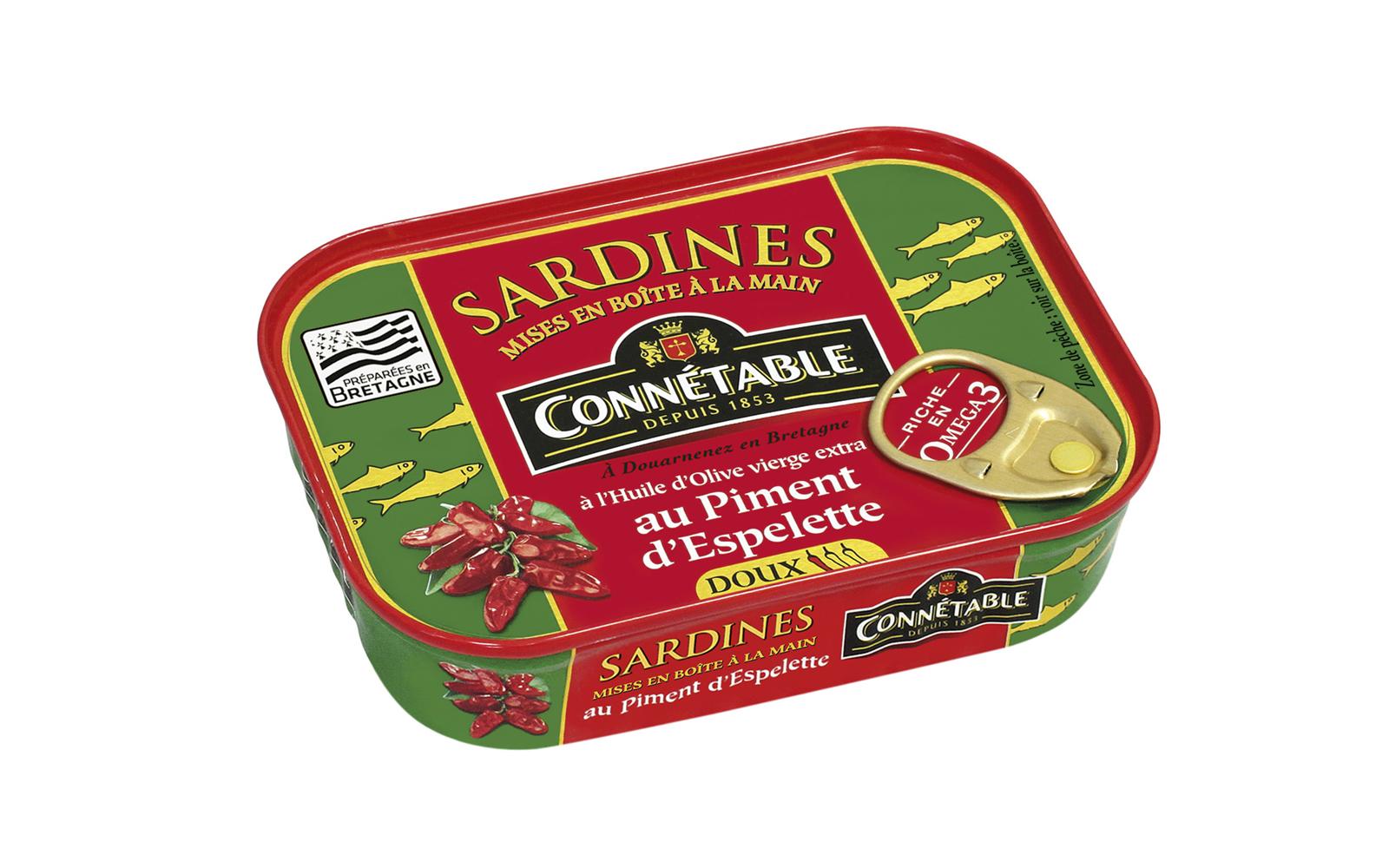 Photo Boîte de Sardines au piment