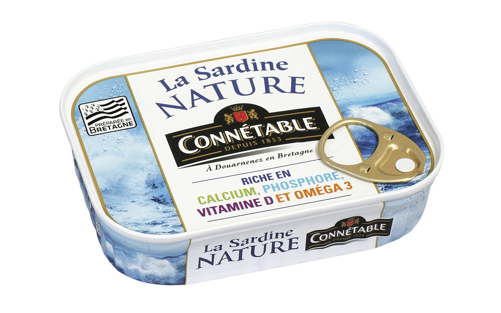 photo Boîte de Sardines au naturel