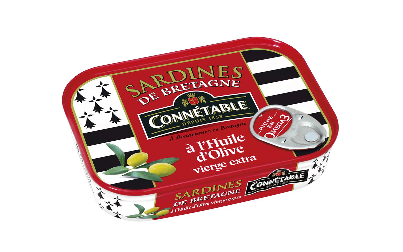 Photo Boîte de Sardines de Bretagne