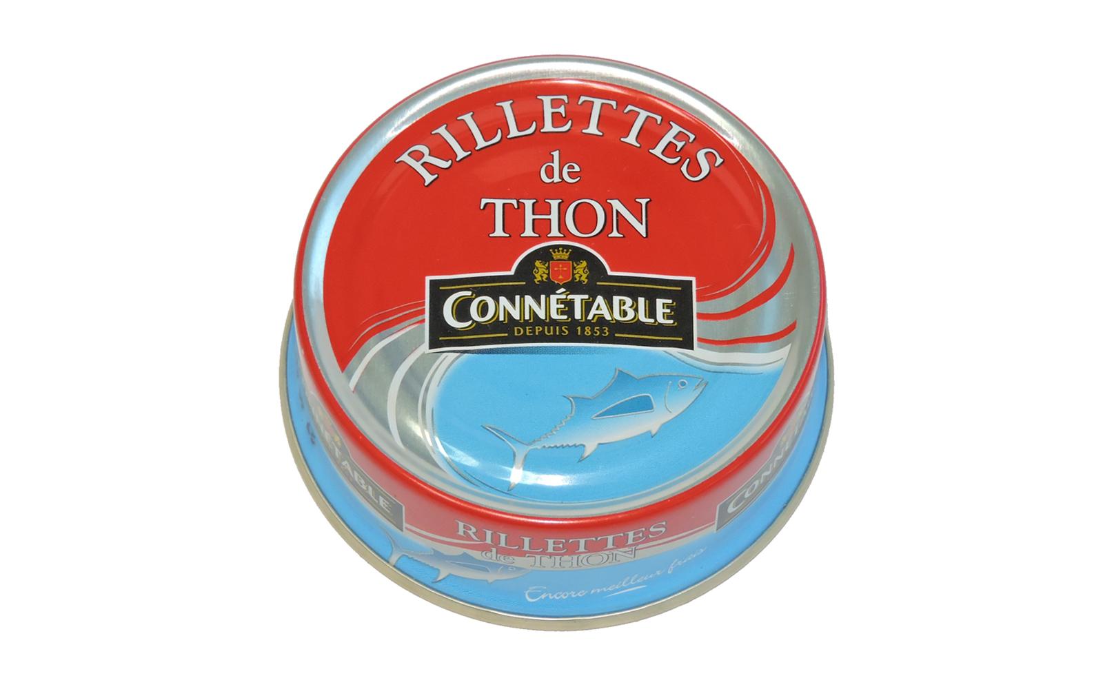 Photo Produit Connétable Rillettes de thon