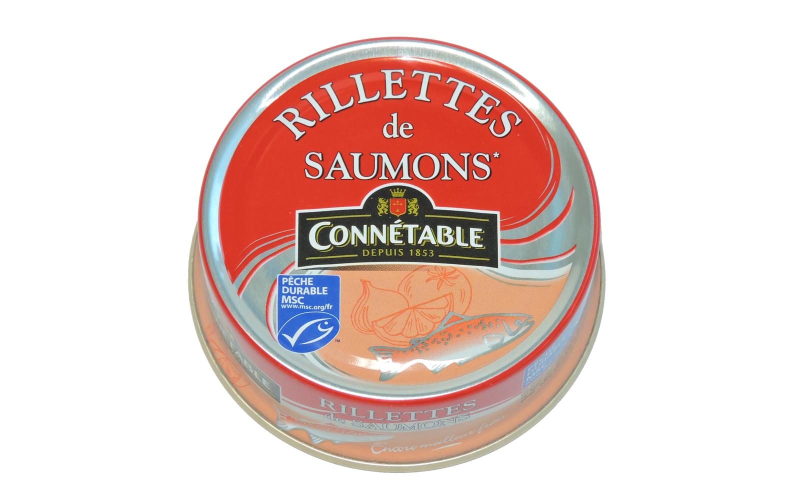 Photo produit Connétable Rillettes de saumon